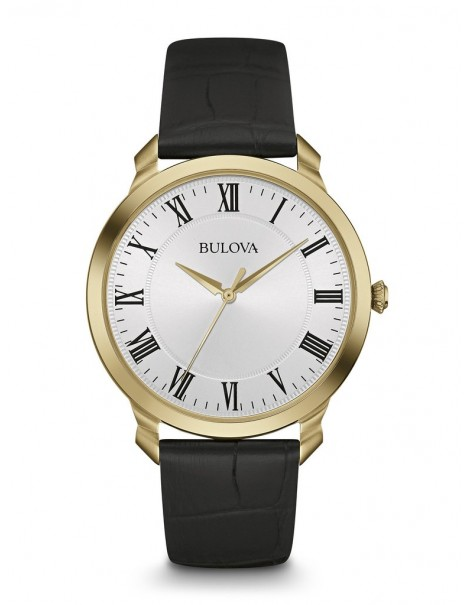Bulova Classic Gold Tone Men's Watch 97A123
