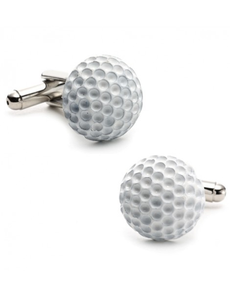 Enamel Golf Ball Cufflinks
