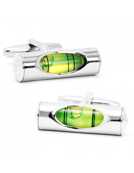Green Level Cufflinks