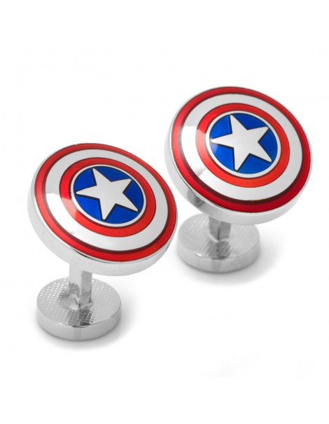 Avengers Captain America Shield Cufflinks
