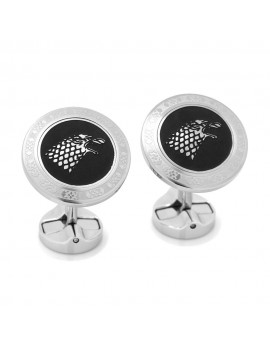 Stark Filigree Stainless Steel Cufflinks from Game of Thrones