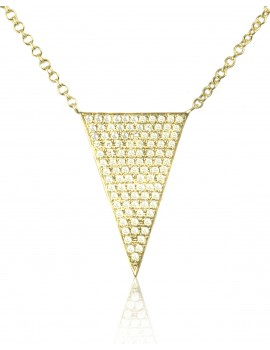 Yellow Gold Diamond Fashion Pendant
