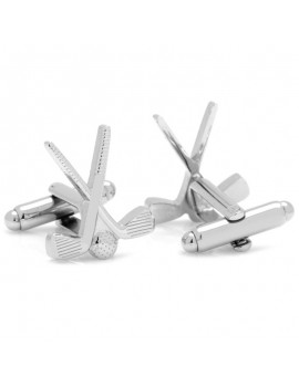 Golf Clubs Cufflinks
