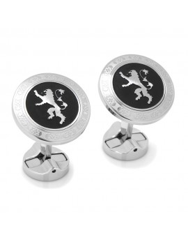 Lannister Filigree Stainless Steel Cufflinks from Game of Thrones