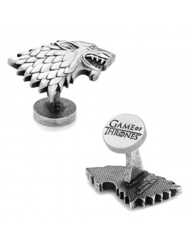 Stark Direwolf Sigil Cufflinks from Game of Thrones
