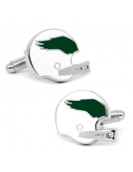 Retro Philadelphia Eagles Helmet Cufflinks