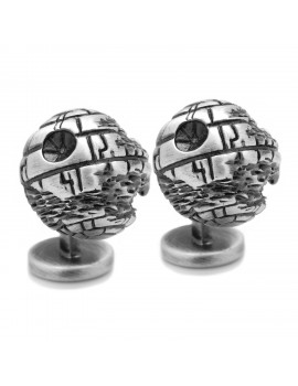 3D Death Star II Cufflinks SW-DS-3D